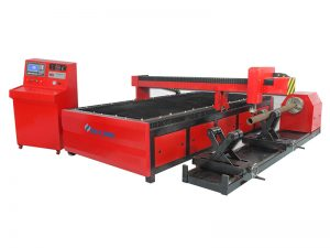 metal nga makina cnc plasma square tube cutting machine, cnc pipe cutter