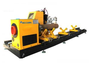 cnc fiber laser metal tube / pipe cutting machine for round / square / rectangular / oval tube
