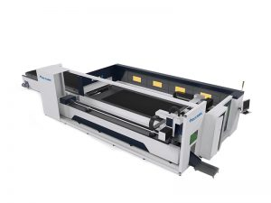 Large Fiber Laser Tube Cutting Machine CNC Laser Cutter And Engraver 6000W