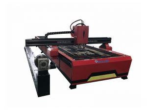 cnc tubo tranĉilo maŝino fibro lasero 500w fabriko fabrikado