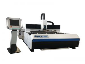 dual ball screw transmission metal tube cnc laser cutting machine