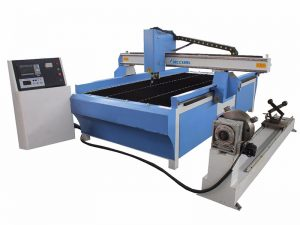 plasma cutting machine with pipe cutter system