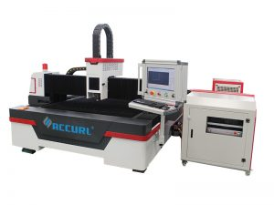 4000w cnc fiber laser pipe cutting machine with china raycus fiber 3 axis