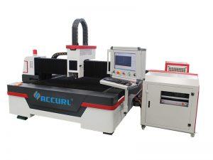 cnc-fibro lasera metala tubo / tubo tranĉanta maŝinon por fajra kontrolindustrio