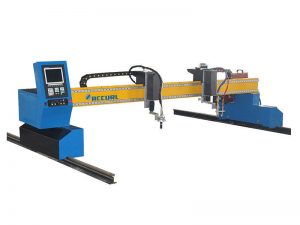china supplier steel plate cnc gantry plasma and flame cutting machine plasma cutter