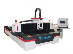1000w roestvrij staal zilveren metalen buis pijp cnc fiber lasersnijmachine