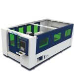 fiber laser metal cutting machine , steel cutting laser machine with tci cutting tables
