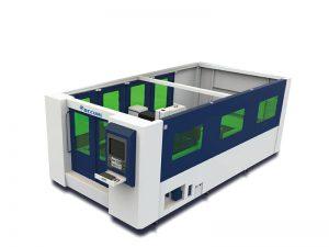 الألياف آلة قطع المعادن بالليزر ، قطع الصلب آلة الليزر مع جداول قطع tci