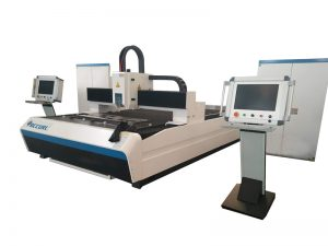 metal tube laser cutting machine with fiber rotary axis