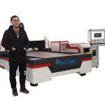 Ang 500W fiber laser cutting machine alang sa metal sheet ug tube