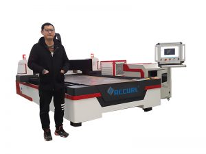 500W fiber laser cutting machine for metal sheet and tube