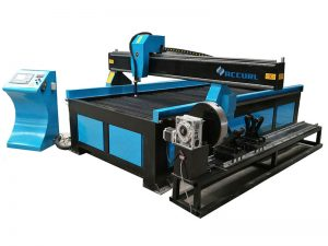 propesyonal na tagagawa ng pipe at sheet cnc plasma cutting machine / cutting table