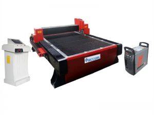 découpeuse de plasma de tuyau de commande numérique par ordinateur d'acier inoxydable utilisée pour l'industrie de botte en acier
