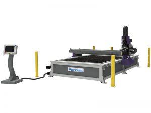 preço 4 * 8ft cnc máquina de corte plasma cortador de metal