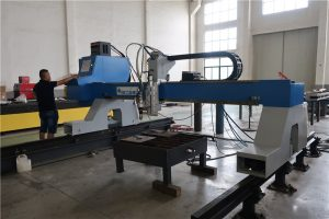 gantry cantilever cnc plasma and flame oxyfuel cutting machine for sale