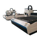 serat laser cutting mesin konsumsi yang lebih rendah / lembaran logam cnc mesin pemotong
