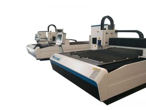 lower consumption fiber laser cutting machine / sheet metal cnc cutting machine
