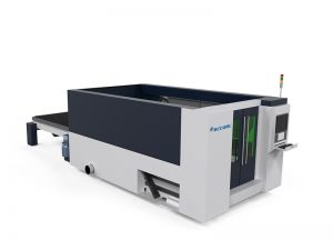 high speed cnc fiber metal sheet / stainless steel laser cutting machine