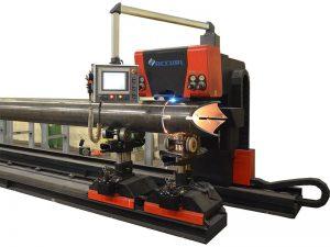 kuum müük - ümmarguse ruudukujulise terastoru jaoks mõeldud väike cnc-toruga laserlõikusmasin