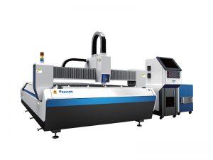 サーボモータ金属管レーザー切断機、金属cnc機械レーザーカッター