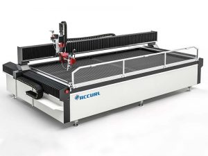 cnc water jet cutting machine stair metal used water cutter