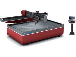 38kw elektrik su jeti kesim makinası cnc su çelik kesici 3.7l / dak akış hızı