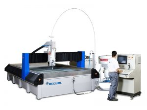 water jet cutting machine alang sa marmol