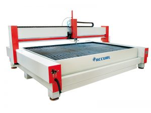 water jet steel cutting machine