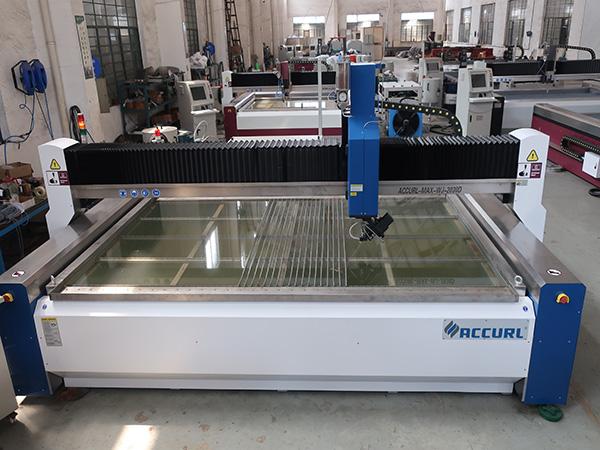 vandstråleskæremaskine til glasskæring med CE TUV ISO9001 certificeringer anvendt anvendt standard